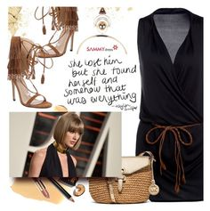 """Taylor"" by ansev ❤ liked on Polyvore featuring Bobbi Brown Cosmetics, MICHAEL Michael Kors and sammydress"