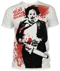 Texas Chainsaw Massacre - Spatter T-Shirt at AllPosters.com