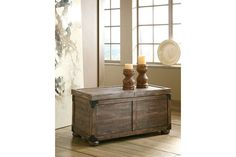 Gray & Brown Vennilux Coffee Table by Ashley Furniture