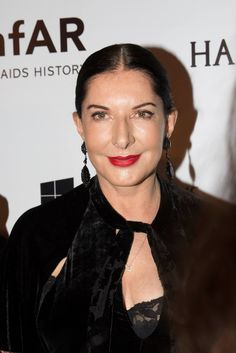 Marina Abramovic at the annual amfAR The Foundation for AIDS Research Inspiration Gala in São Paulo  Kevin Tachman / BackstageAT  More images: http://bkstge.at/amfARsp2015