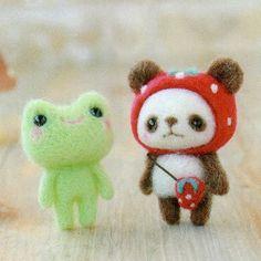 Pacchetto fai da te handmade giapponese feltro di MeMeCraftwork