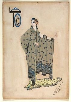 Costume Sketch for Ganna Walska as Floria Tosca, Tosca | LACMA Collections