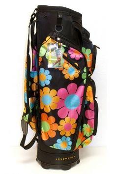 Molhimawk Loudmouth Golf Cart Bag in Magic Bus print #golfbag #golf4her