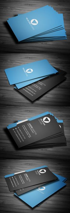 Modern Vertical Business Card Carte De Visite Cartes Verticales
