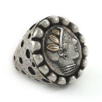 Dian Malouf Athena Coin Ring