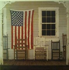 Faded Farmhouse...  @TheDailyBasics ♥♥♥ Image American, American Pride, American Flag, Flag Art, Old Glory, Home Of The Brave, Framed Art Prints, Fine Art Prints, Framed Artwork