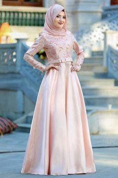 Dress Brokat Muslim, Muslim Prom Dress, Hijab Prom Dress, Dress Pesta, Kebaya Muslim, Abaya Fashion, Muslim Fashion, Fashion Dresses, Hijabi Gowns