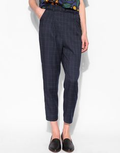"""• 27"""" waist<br><br /> • 13"""" rise<br><br /> • Loose fit through leg<br><br /> • 23.5"""" inseam<br><br /> • 12"""" ankle opening<br><br><br /> Measurements taken flat on a size Small. Model is 5'8"""" and wearing a size Small."""