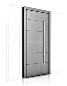 Finestre e portoncini d'entrata   Internorm IT Aluminium, Lockers, Locker Storage, Doors, Container, Construction, Furniture, Home Decor, Entrance Gates