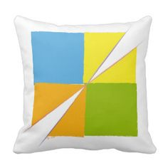 Square Design Pillow