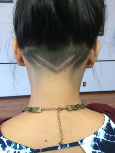 Cuts … Best Picture For nape undercut straight For Your Taste You are looking for something, and it Shaved Undercut, Undercut Long Hair, Shaved Nape, Undercut Hairstyles, Cool Hairstyles, Short Hair Cuts, Short Hair Styles, Undercut Hair Designs, Shaved Hair Designs