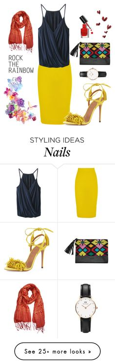 """Untitled #515"" by doroteagale on Polyvore featuring J.Crew, Bobbi Brown Cosmetics, Daniel Wellington, Aquazzura, women's clothing, women's fashion, women, female, woman and misses"