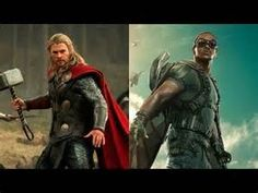 Thor and Falcon