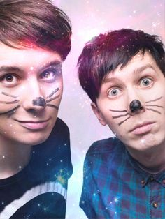 I love them to the moon and back. Dan and Phil