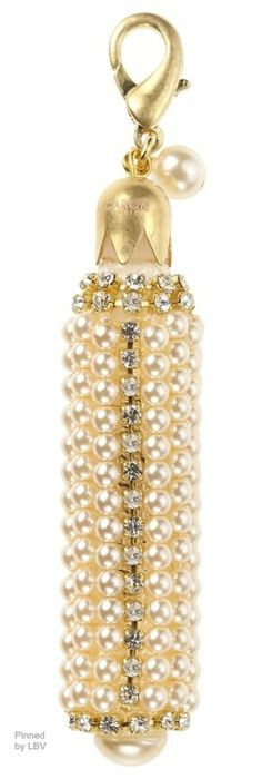 ~Pearls perfume bottle charm | The House of Beccaria#