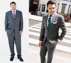 Zdecydowana większość mężczyzn w Polsce nosi ubrania za duże i to o kilka rozmiarów za duże. Moim zdaniem to jeden z największych grzechów modowych rodaków. Wygoda jest przez nich bardziej pożądana niż dobry wygląd. Niestety źle to wpływa na postrzeganie całej sylwetki – dodaje kilogramów i lat, a mężczyzna wygląda niechlujnie. Nie bój się zatem szczuplejszych fasonów i mniejszych rozmiarów.