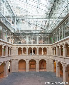 Harvard Art Museums: Town and gown | The Economist | An Italian architect brings subtlety and tact to a difficult American project