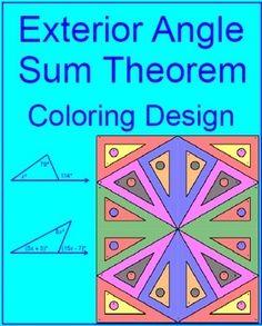 6 Triangle Sum theorem Worksheet Free Printable Geometry Sheets Angles In A Triangle 1 Alphabet Worksheets, Kindergarten Worksheets, Algebra Activities, Coloring Worksheets, Number Worksheets, Printable Worksheets, Triangle Inequality, Interior And Exterior Angles, Triangle Worksheet