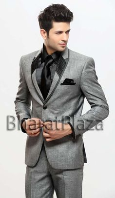 Latest Tuxedos  Men Suits Collection 2013-2014 (4)