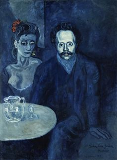 Pablo Picasso, Portrait of Sebastià Junyer i Vidal, 1903. David E. Bright Bequest. (M.67.25.18). Los Angeles County Museum of Art. © Museum Associates / LACMA / Art Resource, NY.