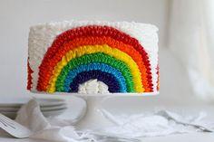 Southern Blue Celebrations: RAINBOW CAKE & CUPCAKE IDEAS