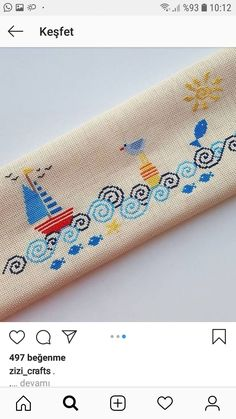 Cross Stitch Pillow, Hand Towels, Hand Embroidery, Cross Stitch Patterns, Projects To Try, Crafts, Diy, Cross Stitch Embroidery, Towels
