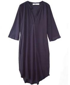 Hope Jersey Pique Kleid SONG DRESS dark blue