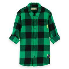 Boys' New Arrivals Scotch Soda, Scotch Shrunk, Online Shops, Button Down Shirt, Men Casual, Shirts, Boys, Sweaters, Mens Tops