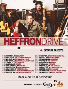 Kendall Schmidt and Dustin Belt Announce Heffron Drive Winter Tour  http://www.hitzoneonline.com/2013/10/17/kendall-schmidt-and-dustin-belt-announce-heffron-drive-winter-tour/