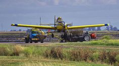 Air Tractor AT-502B N502WC. South of Marysville California. 2016.