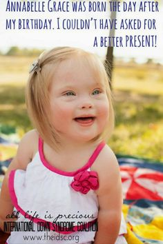 International Down Syndrome Coalition- IDSC: Meet Annabelle Grace!