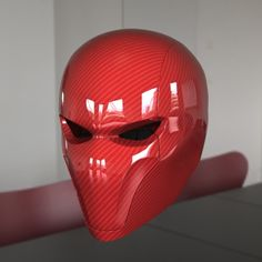 red hood helmet 3d max - Red Hood Helmet... by HCGremlin