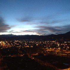 Amanecer hoy en Bogotá
