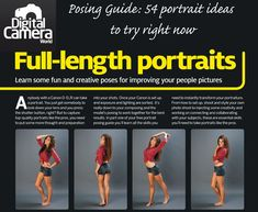 54 Portrait Ideas: free downloadable posing guide