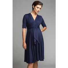 9e3b95947ab Maternal America Front Tie Keyhole Dress. TummyStyle Maternity   Baby