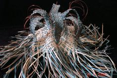 Karmen Thomson - one of her woven sculptures