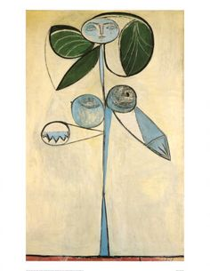 Woman/flower 1946 Picasso