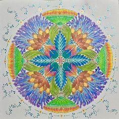 TROPICAL MANDALA from Tropical World Coloring Book by @milliemarotta  #tropical #tropicalwonderland #tropicalworld #paraisotropical #animalkingdom #reinoanimal #wildsavannah #adultcoloring #adultcoloringbook #becreative #coloringbook #coloringforadults #drawing #design #doodle #livrodecolorir #mandala #mandalaart #mindfulness #yoga #zen #zentangle #zendala