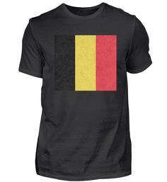 Belgien Flagge Design Motiv Geschenkidee T-Shirt Basic Shirts, Mens Tops, Design, Fashion, Belgium Flag, Presents, Moda, Fashion Styles, Fasion