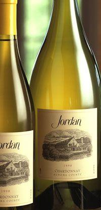 2009 Jordan Chardonnay - green apples, honeysuckle with a hint of kiwi and lemon yest.