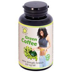 100% caffè verde (coffea arabica): brucia grassi ad azione tonica