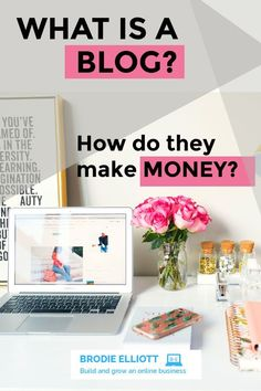 what is the difference between a blog and a website and why are blogs so profitable #make money online #monetize your blog Business Tips, Online Business, Free Stock Image Sites, Make Money Online, How To Make Money, What Is A Blog, Make Money Traveling, Creating Passive Income, Paying Ads