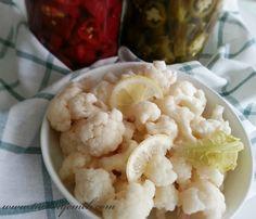 TUANA MUTFAK: KARNABAHAR TURŞUSU Cauliflower, Vegetables, Food, Cauliflowers, Essen, Vegetable Recipes, Meals, Cucumber, Yemek