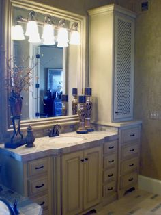 Bathroom Cabinets Kansas City bathroom+vanity+with+linen+cabinet | bath & laundry cabinets