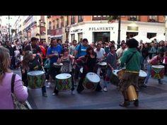 Batucada Acampada Zaragoza Samba Drums, Bucket Drumming, Music And Movement, South America, Movie Tv, Youtube, Music Instruments, Dance, Salvador