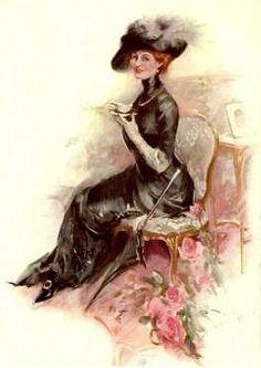 Penelope Primrose. Self-proclaimed head of the Tea Sluggers Club