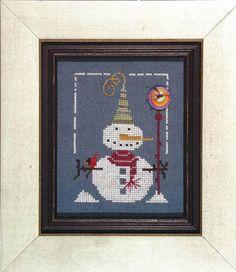 Peabody - Cross Stitch Pattern