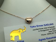 75% / 18k Rose  & White Gold Cartier Necklace