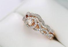 c2deebe75 Diamantová kombinace zásnubního a snubního prstenu. #klenotnictvipraha  #zlatnictvipraha #sperky #prsten #