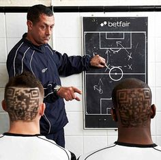 Footballers from Bromley Town had QR codes shaved into their heads for sponsors Betfair. Excellent example how NOT to use QR code ;)